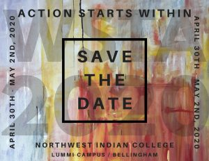 Save-the-date image. WSTA Conference April 30th-May 2nd